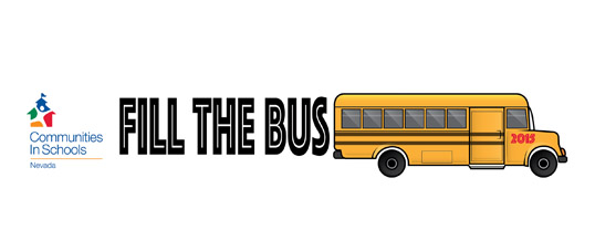 Communities In Schools 3rd Annual Fill The Bus School Supply Drive